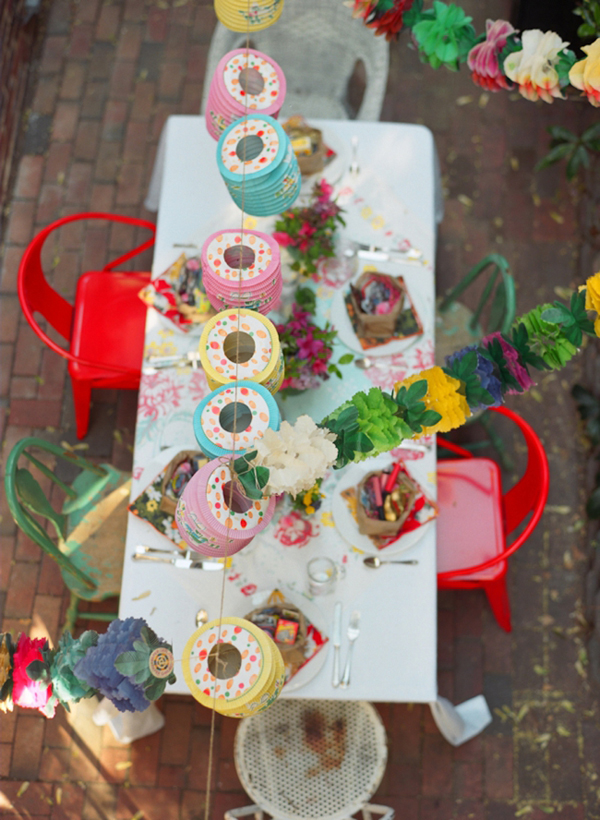 Colorful Backyard Spring Party Glitter IncGlitter Inc