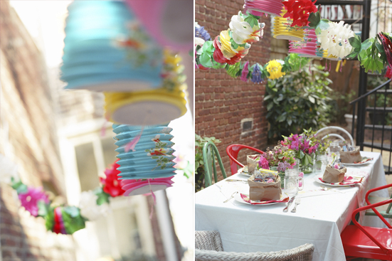 Colorful Backyard Spring Party | Glitter, Inc.Glitter, Inc.