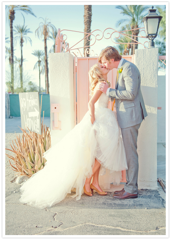 palm-springs-wedding-adorable-tulle-dress