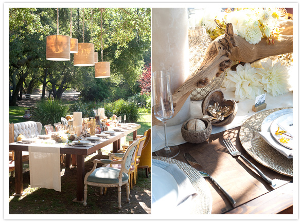 safari-inspired-wedding-ideas-tablescape-lights
