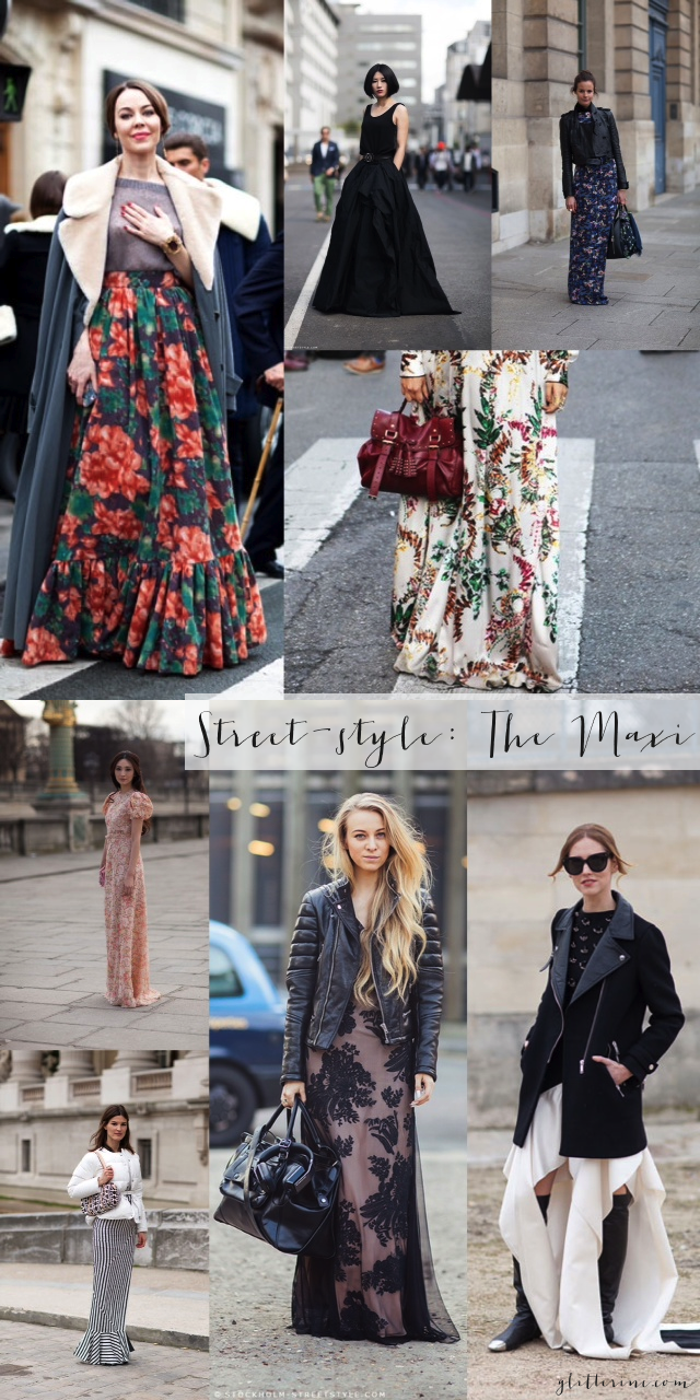 street-style the maxi dress skirt _ glitterinc.com