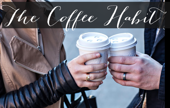 the coffee habit _ coffee cups - leather