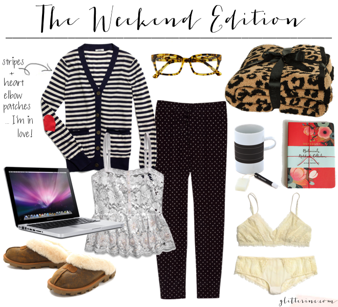 the weekend edition - blogging staying in _ glitterinc.com