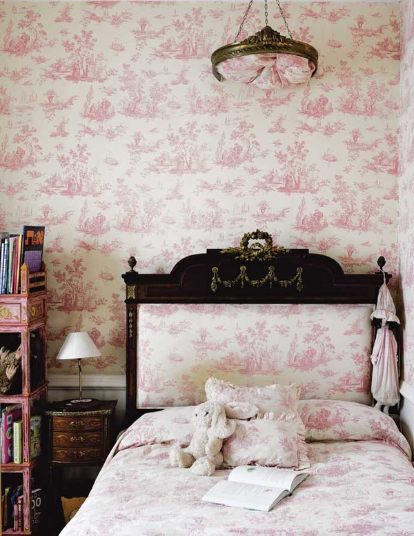 French-Inspired Johannesburg Farmhouse pnk girls room