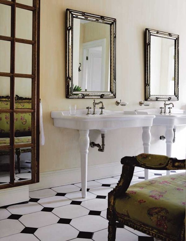 French-Inspired Johannesburg Farmhouse sinks
