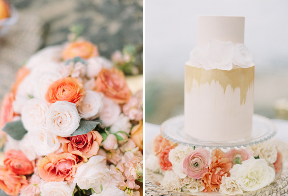 ashley kelemen beachshoot-pink-beach-wedding_cake