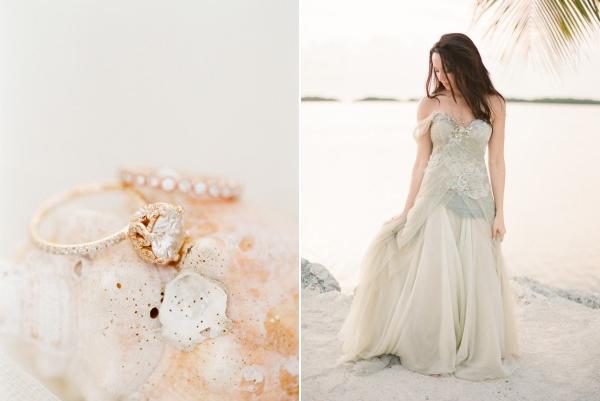 blue mermaid wedding dress 3