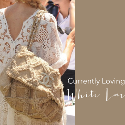 Currently Loving: White Lace