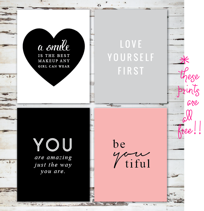 free love prints _ glitterinc.com