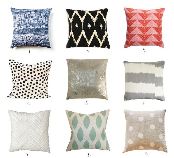pillow talk - pillows _ glitterinc.com