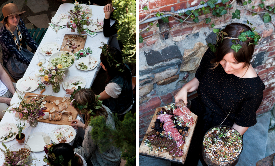 La Buena Vida Kinfolk dinner party