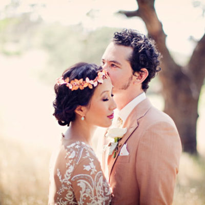 Couture-Meets-Bohemian Wedding