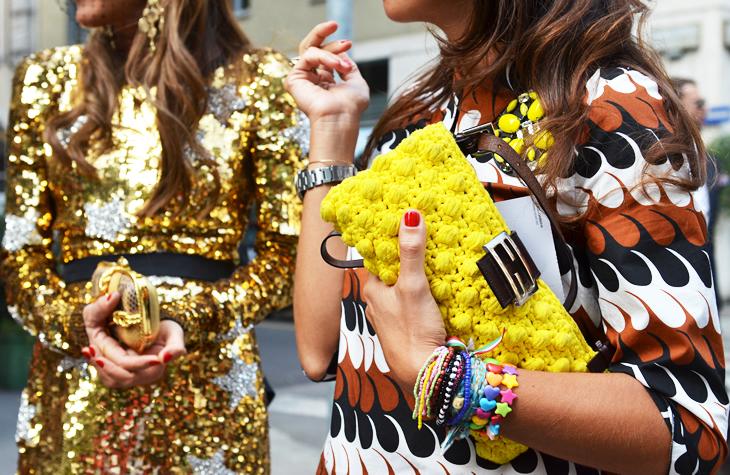 street style summer arm party plastic friendship bracelets sequins fashion