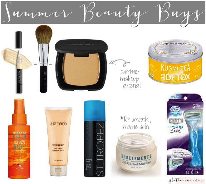 summer beauty buys board glam haul _ glitterinc.com