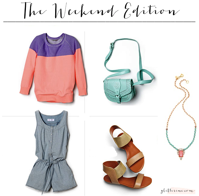 the weekend edition errands pastels moving packing _ glitterinc.com