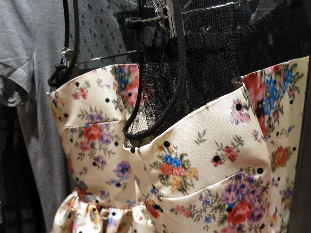 London Harrods flower dress Valentino _ glitterinc.com