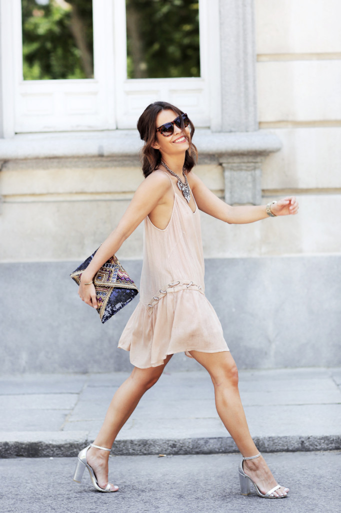 Somedays_Lovin_Dress-Party_Outfit-Silver_Sandals-Street_style-Beaded_Bag-collage-vintage-lac-up