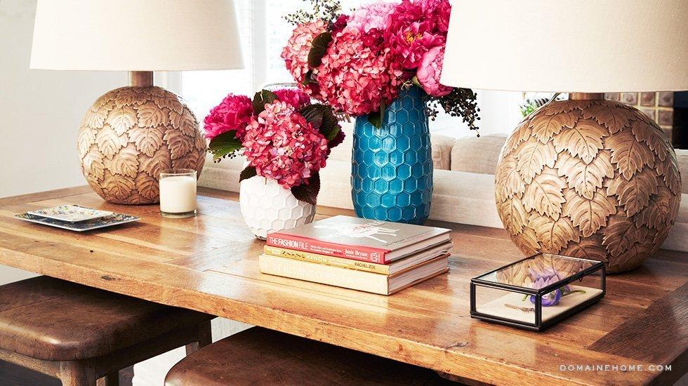 lea michele bungalow los angeles table lamps