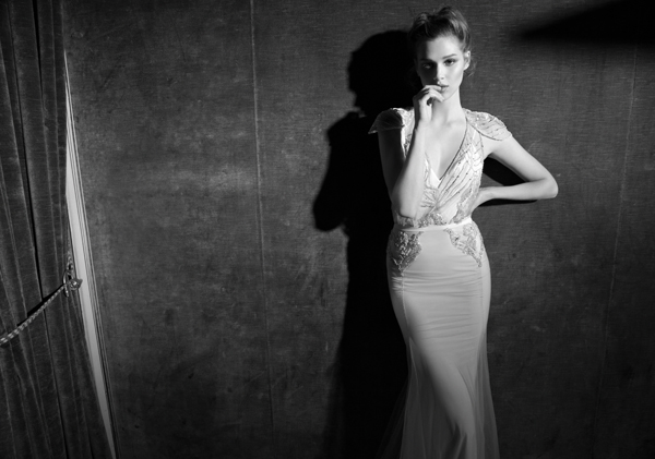 Inbal Dror Paris Collection wedding backless dress 3