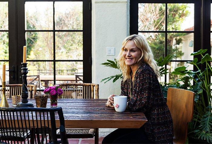 Katie Tarses bohemian design Spanish-Style Hollywood Hills Home
