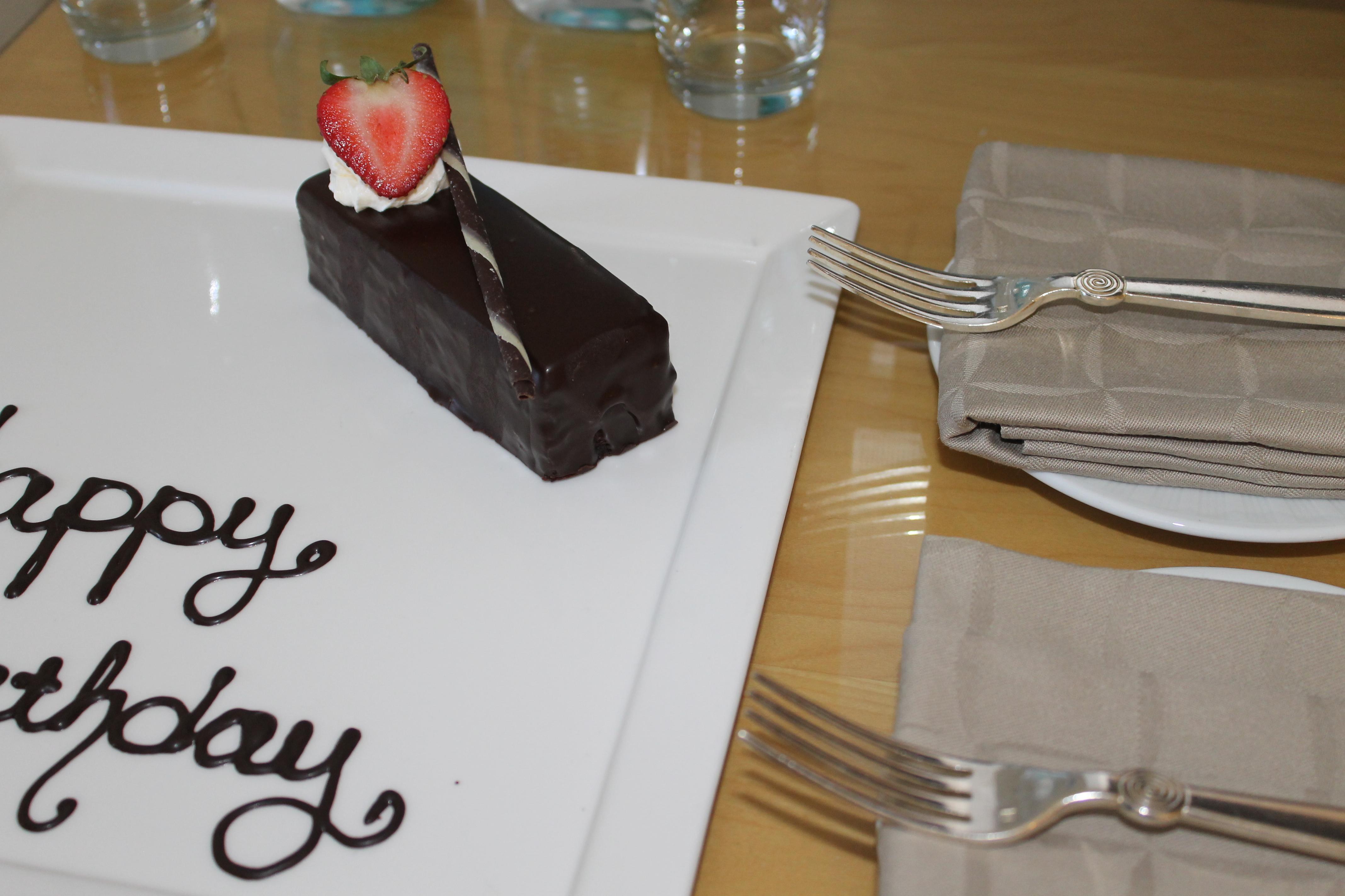 Lexi birthday cake loews hotel weekend surprise _ glitterinc.com