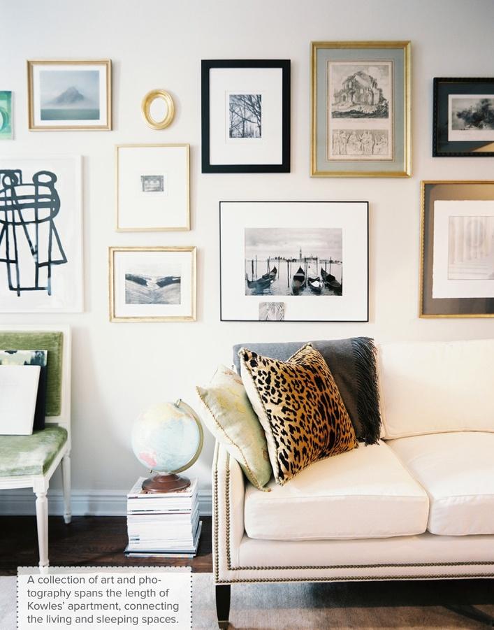 leopard pillow cream stud sofa lonny