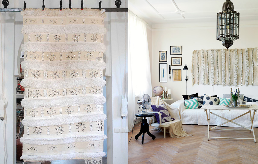 Hang Blanket On Wall where to buy a moroccan wedding blanket archives | glitter, inc