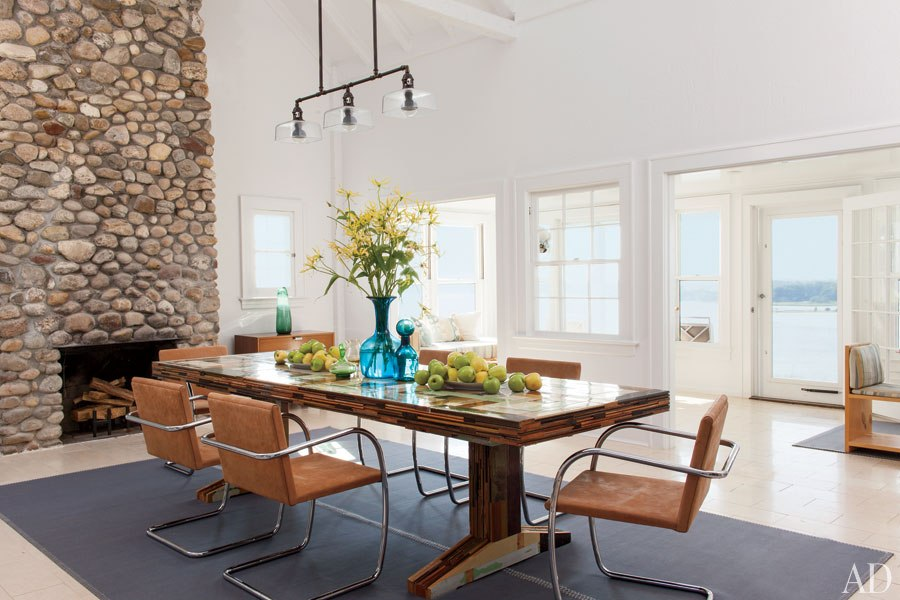 shelter island beach house-dining-room