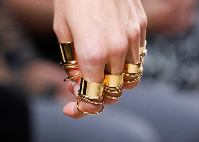 Balenciaga-Spring-2013-golden-rings