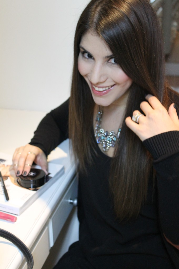 Lexi BaubleBar standout style getting ready date night smiling _ glitterinc.com