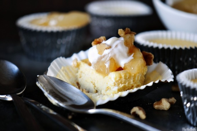 9 Fall-ready apple desserts: Mini Apple Cheesecakes