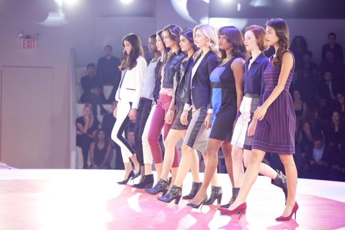 Target Fashion Show Fall 2013 fall bold lipstick trend _ glitterinc.com