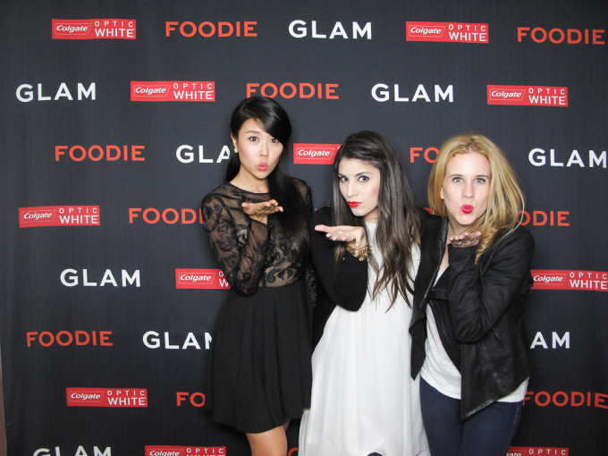 dinner with glam bloggers _ glitterinc.com