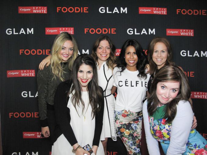 glam media dinner morimoto bloggers 2 _ glitterinc.com