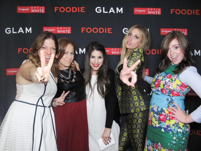 glam media dinner morimoto bloggers 4 _ glitterinc.com