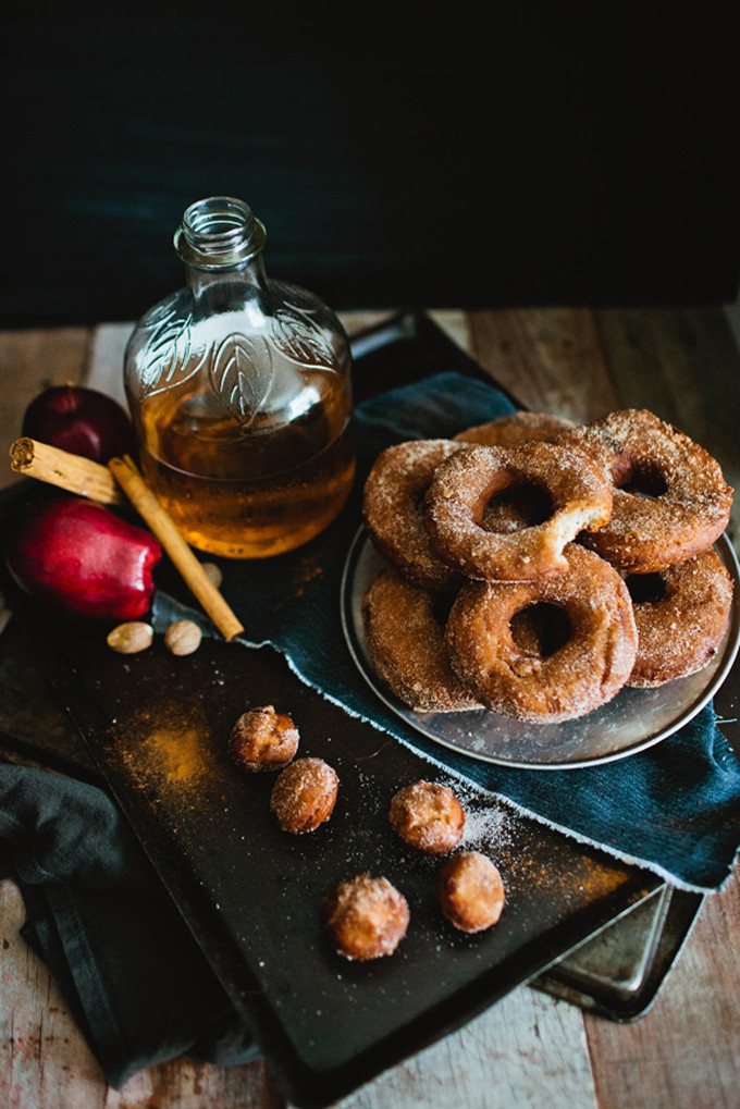 9 Fall-ready apple desserts: Apple Cider Cinnamon Donuts