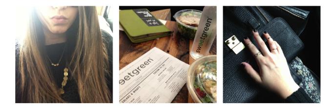 lexi new york fashion week nyc cab selfie salad pashli _ glitterinc.com