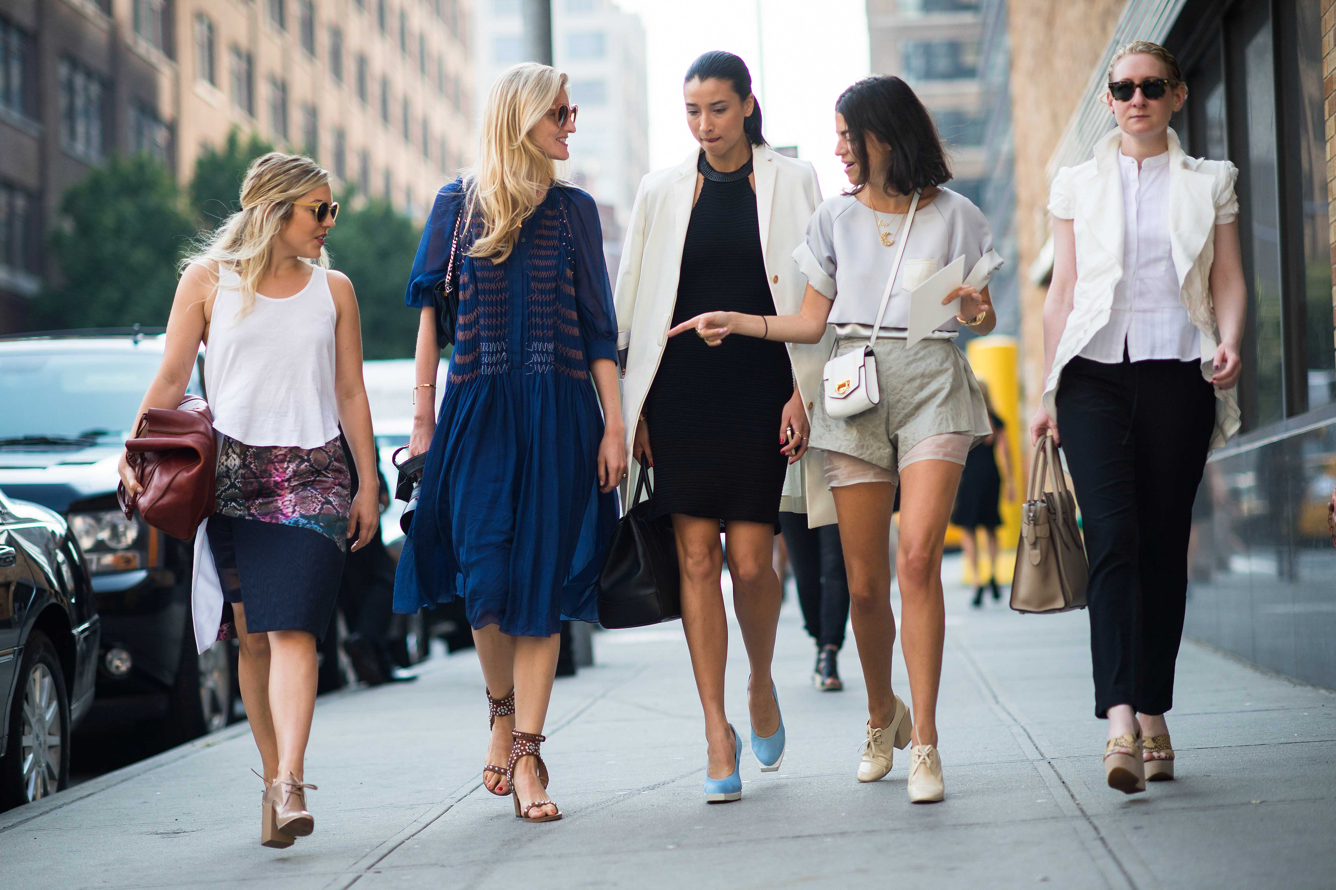 Nyfw Ss 2014 Street Style Favorites Glitter Inc