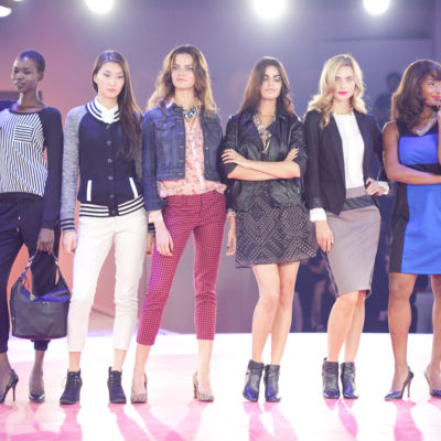 Target Fashion Show + The Bold Lip Trend
