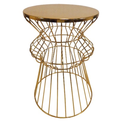 Targetu0027s Gold Side Table By NC Blogger Glitter, Inc.