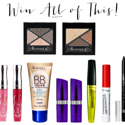 Glitter, Inc. Giveaway No. 4: Rimmel Favorites