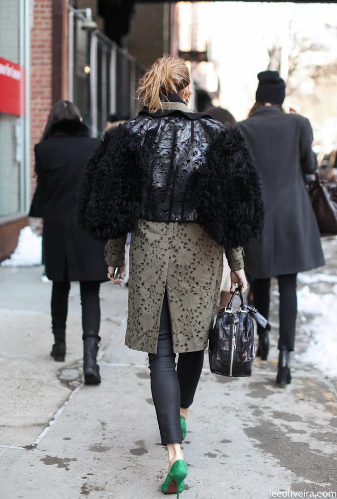 LEEOLIVEIRA-coat fur street style