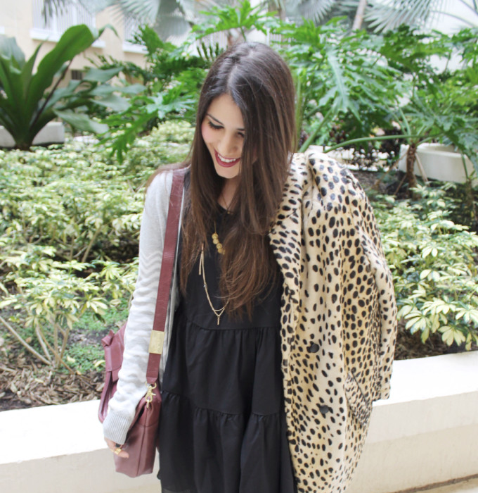 T.J.Maxx maxxinista fall layering berry foley corinna purse gold necklaces leopard coat asos lovers friends lbd _ glitterinc.com