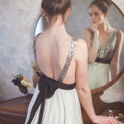Truvelle's Sequin Wedding Dresses