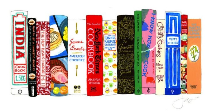 ideal bookshelf books print classes cooking _ glitterinc.com