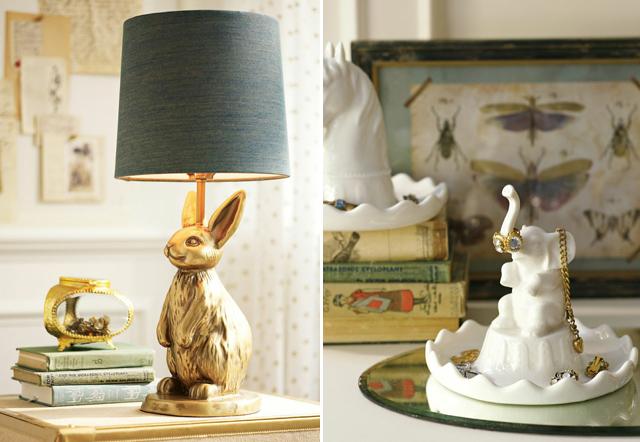 pbteen emily meritt bunny lamp