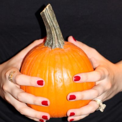 The Perfect Fall Red Manicure