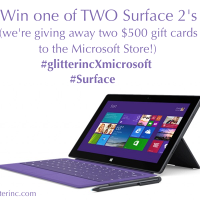 Surface 2 Launch + Two $500 Microsoft Giveaways
