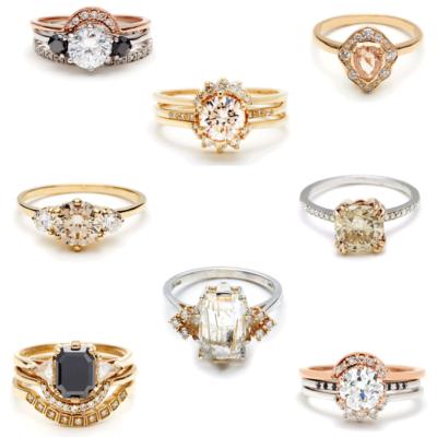 Anna Sheffield Bridal Rings