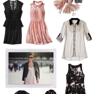 Trend to Try: Black & White + Blush